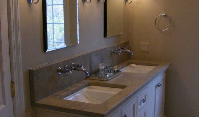 Double Sink & backsplash